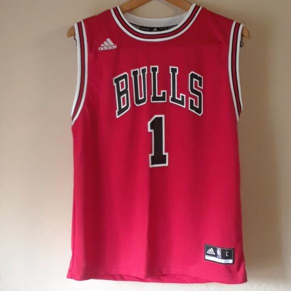 on sale e1cd4 c4fe3 Adidas Chicago Bulls Derrick Rose Jersey